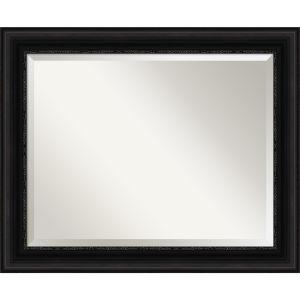 Parlor Black 34W X 28H-Inch Bathroom Vanity Wall Mirror