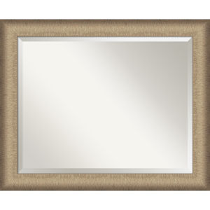 Elegant Bronze 33W X 27H-Inch Bathroom Vanity Wall Mirror