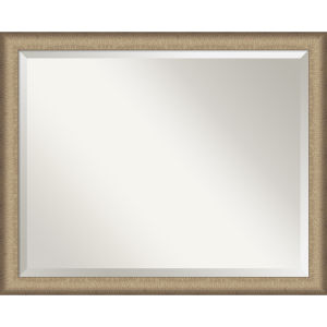 Elegant Bronze 31W X 25H-Inch Bathroom Vanity Wall Mirror