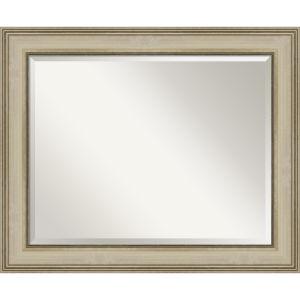 Colonial Gold 34W X 28H-Inch Bathroom Vanity Wall Mirror