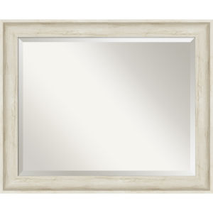 Regal White 33W X 27H-Inch Bathroom Vanity Wall Mirror
