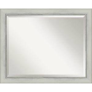 Flair Silver 32W X 26H-Inch Bathroom Vanity Wall Mirror