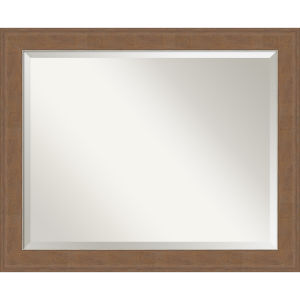 Alta Brown 33W X 27H-Inch Bathroom Vanity Wall Mirror