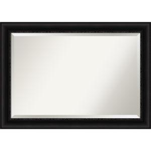 Parlor Black 42W X 30H-Inch Bathroom Vanity Wall Mirror