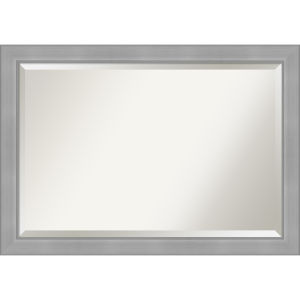 Vista Brushed Nickel 41W X 29H-Inch Bathroom Vanity Wall Mirror