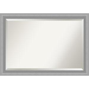Peak Brushed Nickel 41W X 29H-Inch Bathroom Vanity Wall Mirror