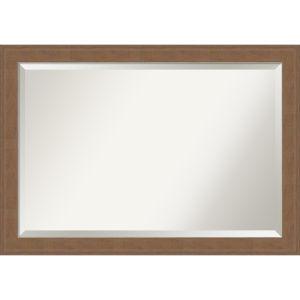 Alta Brown 41W X 29H-Inch Bathroom Vanity Wall Mirror