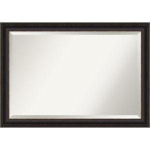 Trio Bronze 41W X 29H-Inch Bathroom Vanity Wall Mirror