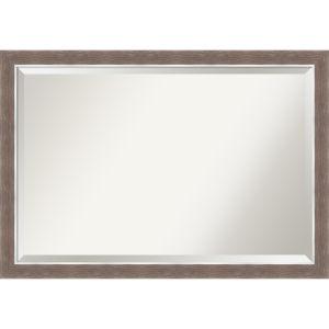 Noble Mocha 40W X 28H-Inch Bathroom Vanity Wall Mirror