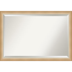 Eva Gold 39W X 27H-Inch Bathroom Vanity Wall Mirror