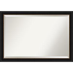 Manhattan Black 40W X 28H-Inch Bathroom Vanity Wall Mirror