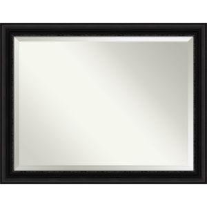Parlor Black 46W X 36H-Inch Bathroom Vanity Wall Mirror