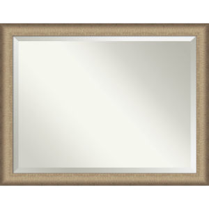 Elegant Bronze 45W X 35H-Inch Bathroom Vanity Wall Mirror
