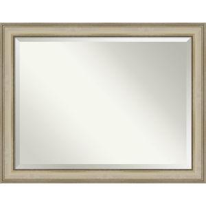 Colonial Gold 46W X 36H-Inch Bathroom Vanity Wall Mirror