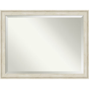 Regal White 45W X 35H-Inch Bathroom Vanity Wall Mirror