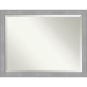 Vista Brushed Nickel 45W X 35H-Inch Bathroom Vanity Wall Mirror
