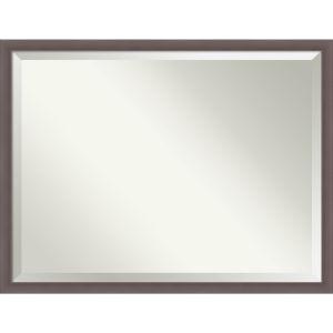 Urban Pewter 43W X 33H-Inch Bathroom Vanity Wall Mirror