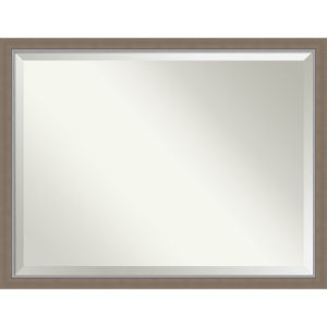 Eva Brown 43W X 33H-Inch Bathroom Vanity Wall Mirror