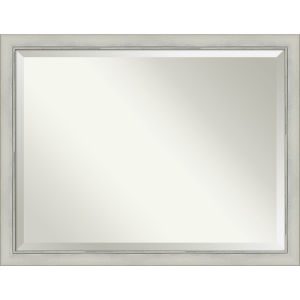 Flair Silver 44W X 34H-Inch Bathroom Vanity Wall Mirror