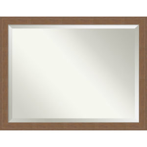 Alta Brown 45W X 35H-Inch Bathroom Vanity Wall Mirror