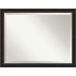 Trio Bronze 45W X 35H-Inch Bathroom Vanity Wall Mirror