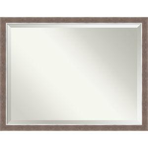 Noble Mocha 44W X 34H-Inch Bathroom Vanity Wall Mirror
