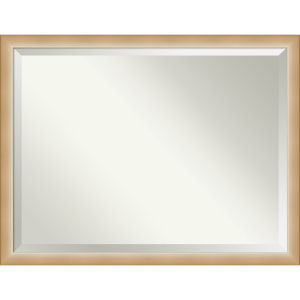 Eva Gold 43W X 33H-Inch Bathroom Vanity Wall Mirror