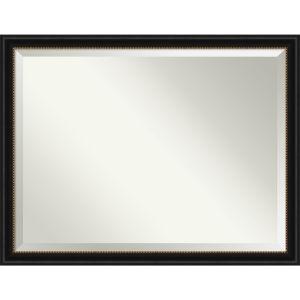 Manhattan Black 44W X 34H-Inch Bathroom Vanity Wall Mirror