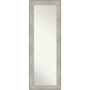 Crackled Silver 19W X 53H-Inch Full Length Mirror