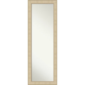 Honey and Silver 18W X 52H-Inch Full Length Mirror