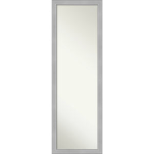 Vista Brushed Nickel 17W X 51H-Inch Full Length Mirror