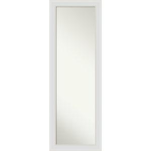 Flair White 18W X 52H-Inch Full Length Mirror
