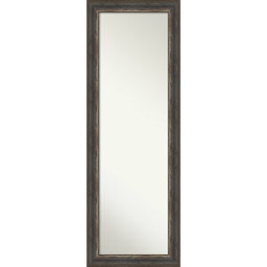 Alta Rustic Brown 19W X 53H-Inch Full Length Mirror