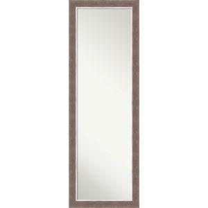 Noble Mocha 18W X 52H-Inch Full Length Mirror
