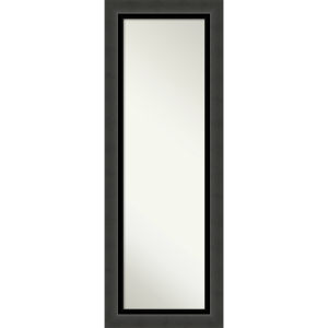 Tuxedo Black 20W X 54H-Inch Full Length Mirror