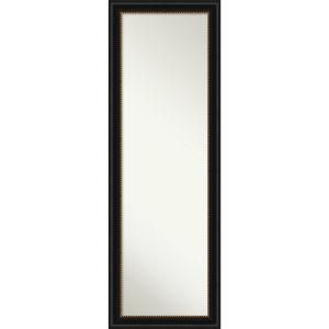 Manhattan Black 18W X 52H-Inch Full Length Mirror