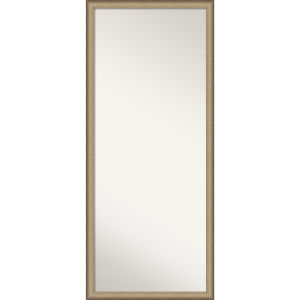 Elegant Bronze 27W X 63H-Inch Full Length Floor Leaner Mirror