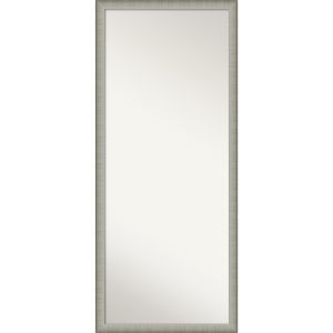 Elegant Pewter 27W X 63H-Inch Full Length Floor Leaner Mirror