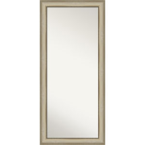 Colonial Gold 30W X 66H-Inch Full Length Floor Leaner Mirror
