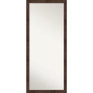 Wildwood Brown 28W X 64H-Inch Full Length Floor Leaner Mirror