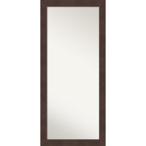 Wildwood Brown 29W X 65H-Inch Full Length Floor Leaner Mirror