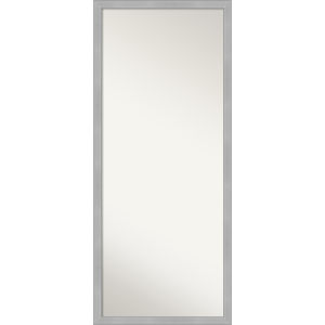 Vista Brushed Nickel 27W X 63H-Inch Full Length Floor Leaner Mirror