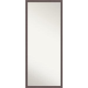 Urban Pewter 27W X 63H-Inch Full Length Floor Leaner Mirror