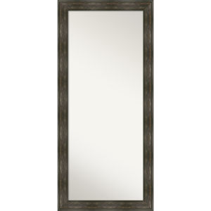 Rail Brown 30W X 66H-Inch Full Length Floor Leaner Mirror