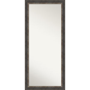Bark Brown 29W X 65H-Inch Full Length Floor Leaner Mirror