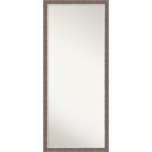 Noble Mocha 28W X 64H-Inch Full Length Floor Leaner Mirror