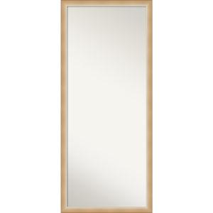 Eva Gold 27W X 63H-Inch Full Length Floor Leaner Mirror