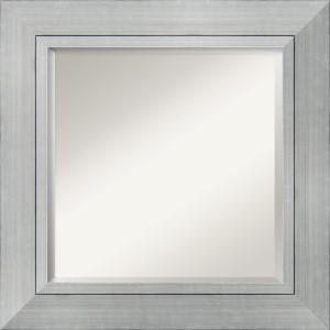 Romano Burnished Silver Square Mirror