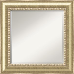 Astoria Champagne Square Mirror