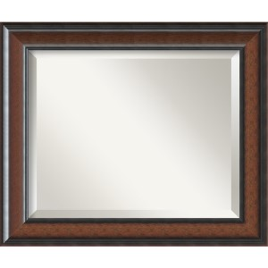 Cyprus Dark Walnut Medium Rectangular Mirror